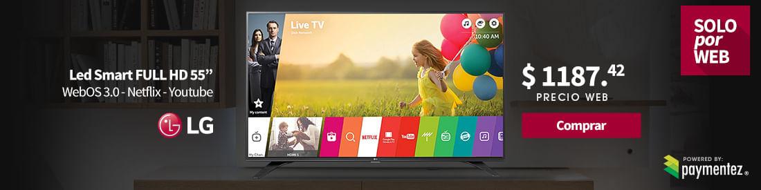 tv smart led Lg 55 pulgadas Full HD Paymentez