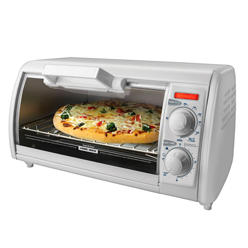 Horno tostador black and decker tro420 comandato for Horno electrico black decker