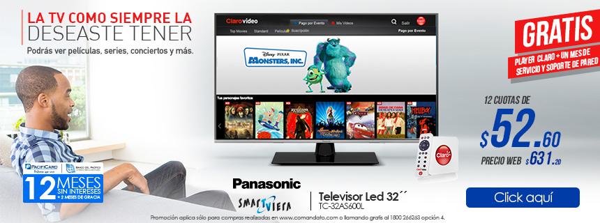 La TV como siempre la deseaste ver!