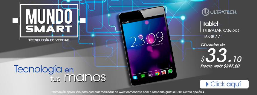 Tecnología en tus manos. Tablet Ultratech 16GB. Pídela Ya!