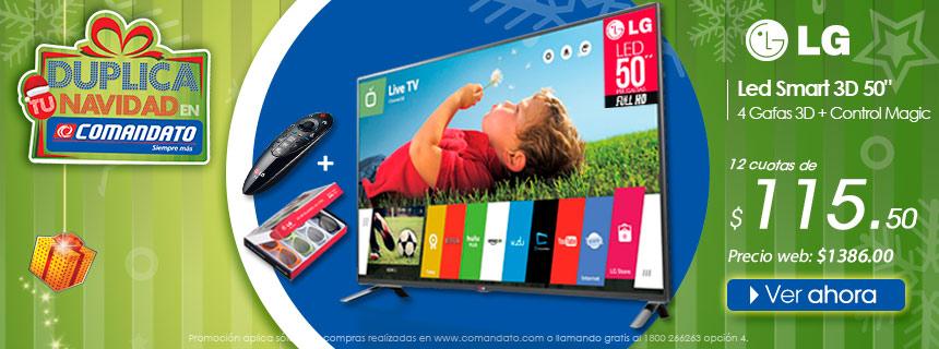 Led Smart 3D LG 50 Pulgadas