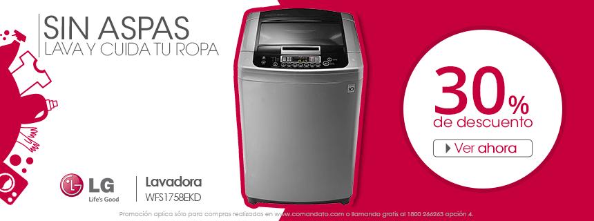 Lavadora Automática LG WFS1758EKD