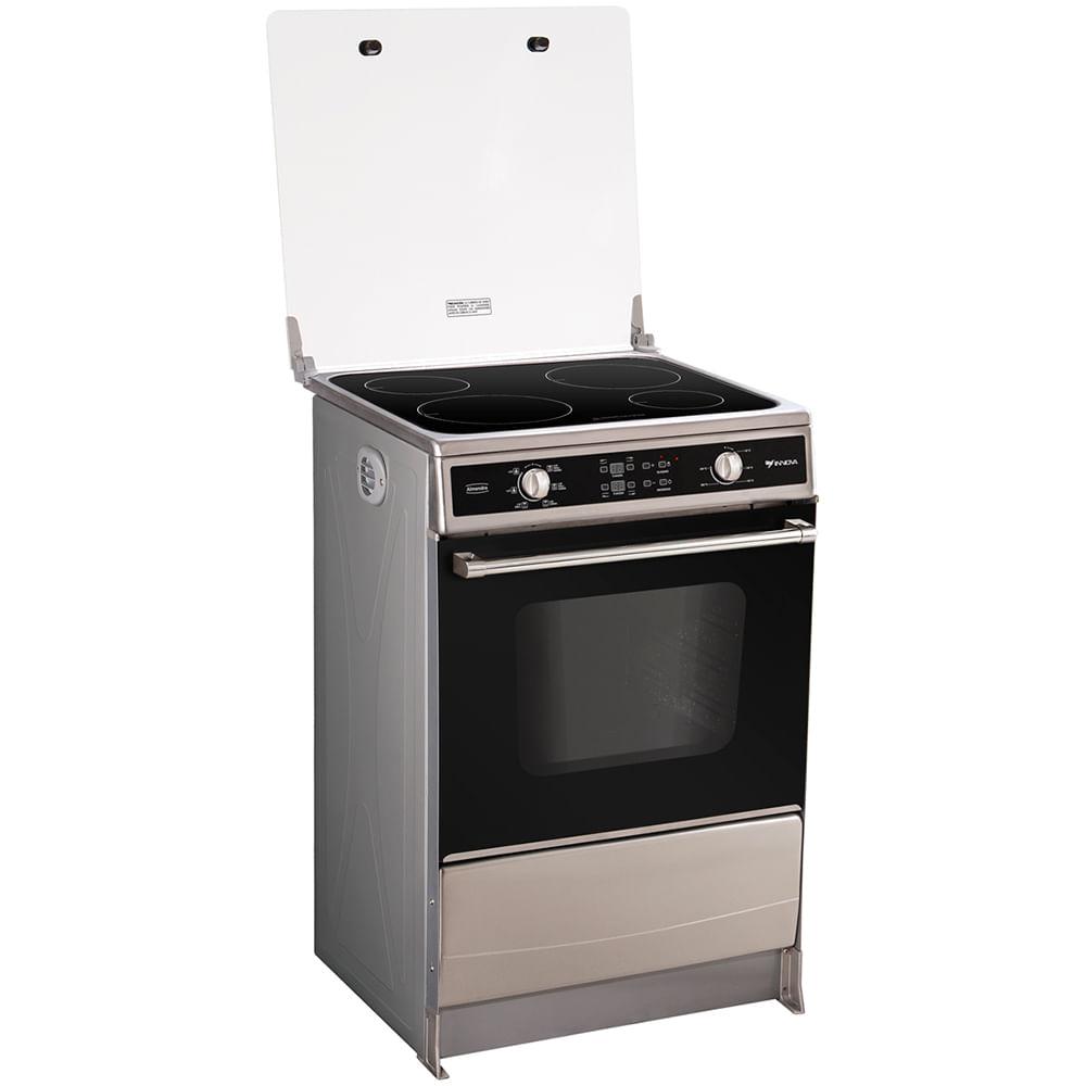 Cocina de inducci n innova almendra 4 inductores for Cocina induccion precio