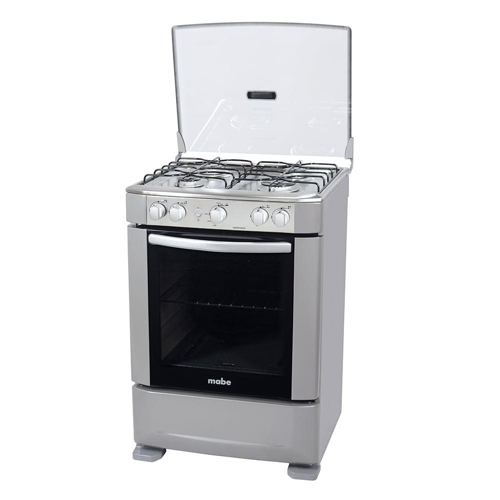 Cocina a gas mabe ingenious6020eg2 4 hornillas horno for Cocina de gas profesional