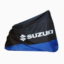 cobertor-para-moto-shot-suzuki-ajustable-color-negro-con-azul