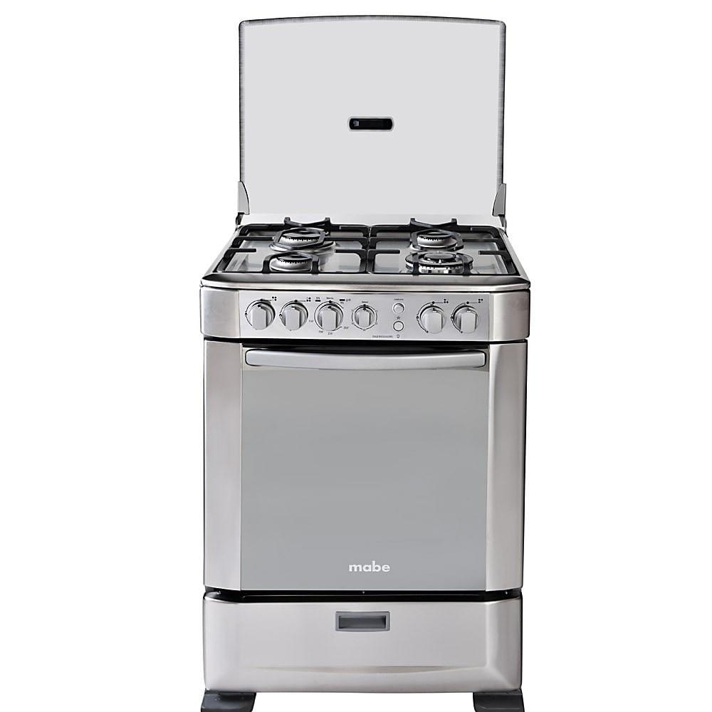 Cocina A Gas | Cocina A Gas Mabe Ingenious6095ex0 4 Hornillas Encendido