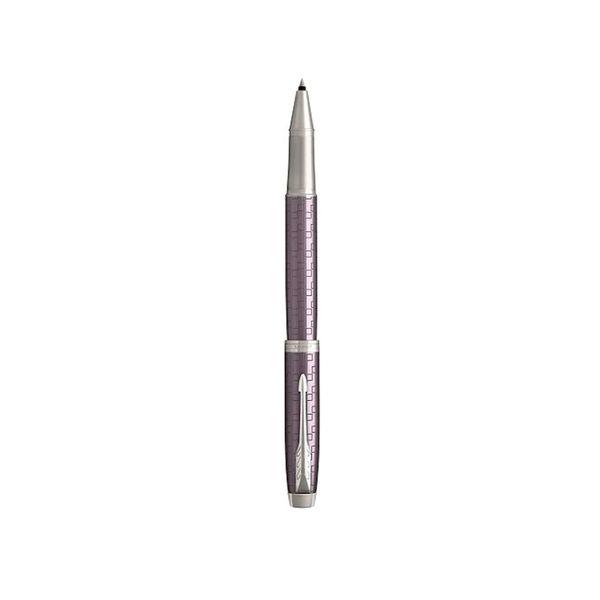 Boligrafo-Rollerball-IM-Parker-violeta-oscuro-frontal