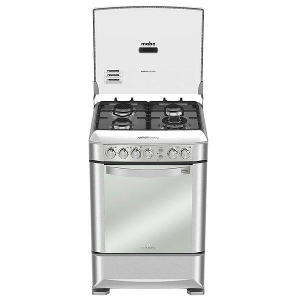 cocina-gas-mabe-EM6095FX0-frontal
